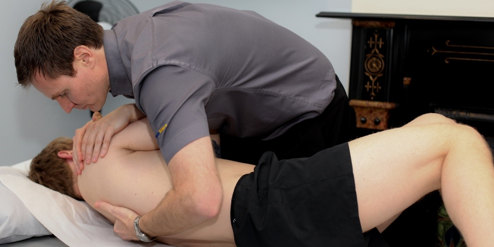 Chiropractic Treatment for a neck problem