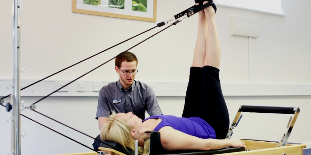 Pilates for beginners and experienced people