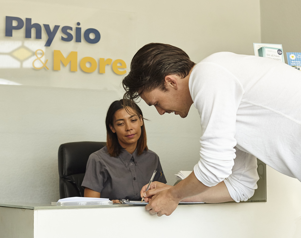 Physio & More Reception